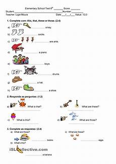 demonstrative pronouns actividades educativas