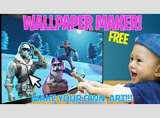 Design your own fortnite wallpapers!   Fortnite News