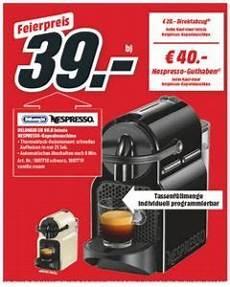 Nespresso Kapselmaschine Media Markt Angebot F 252 R 39