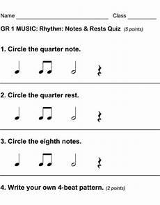 rhythmic pattern worksheet for grade 5 518 beth s notes excellent assessments for each grade level my education