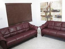 ekornes stressless sofa loveseat set modern leather