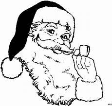 Malvorlagen Weihnachtsmann Gratis Weihnachtsmann Mit Pfeife Ausmalbild Malvorlage Gemischt