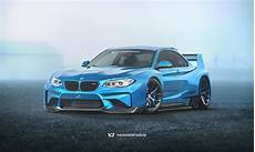 rendering bmw m2 gets csl features to make a track monster