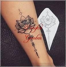 Gambar Henna Bunga Mawar Gambar Bunga