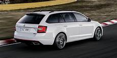 2017 Skoda Octavia Rs Facelift Revealed Ahead Of