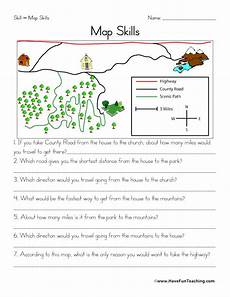 maps worksheets have fun teaching