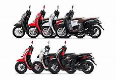 Modifikasi Scoopy 2018 by 7 Pilihan Warna Scoopy 2018 Dua Model Sporty Dan Stylish
