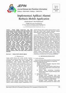 pdf implementasi aplikasi alumni berbasis mobile application