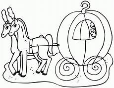cinderella carriage coloring pages coloring home