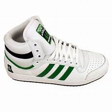 mens adidas top ten hi tops basketball boot trainers ankle