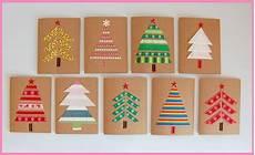 Weihnachten Basteln Grundschule - diy weihnachtskarten basteln basteln weihnachten