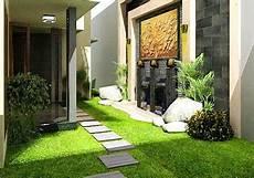 9 Ide Desain Taman Minimalis Mungil Di Rumah