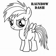 My Pony Malvorlagen Rainbow Dash My Pony Coloring Pages Rainbow Dash Rainbow