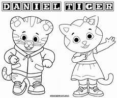 daniel tiger coloring page home sketch coloring page