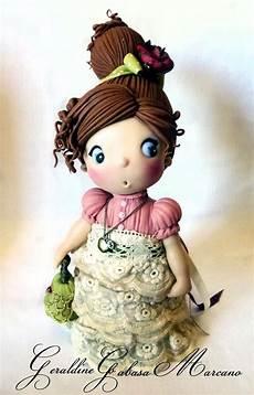 porcelana fria polymer clay pasta francesa masa fimo gum paste figurine modelado topper