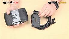 Garmin Zumo 590lm Motorcycle Cradle Overview With Gps