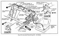 Instrument Panel Wiring Diagram C K Models For 1979 Gmc