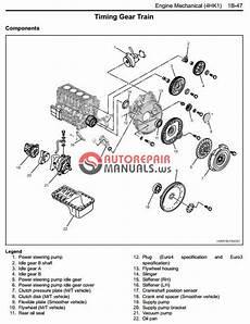 motor auto repair manual 2007 isuzu i series interior lighting isuzu 2008 2009 my n series engine 4hk1 model workshop manual auto repair manual forum heavy