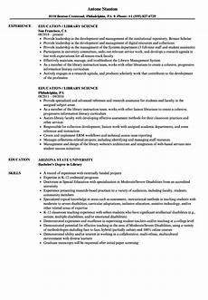 education library science resume sles velvet jobs education library science resume sles velvet jobs