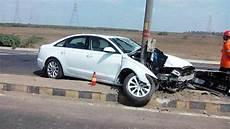 Unfall A 4 - car of audi a4 road crash