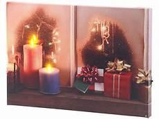 infactory led weihnachtsbilder wandbild quot weihnachtliches