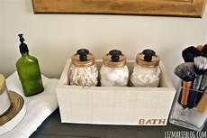 Bathroom Jar Storage by 15 Minute Diy Bathroom Organization Ideas
