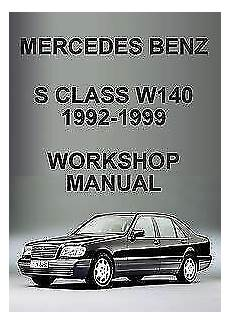 service and repair manuals 1996 mercedes benz s class windshield wipe control mercedes benz s class repair manual ebay