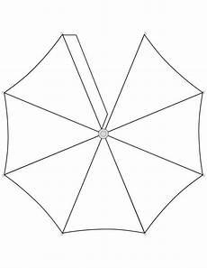 Gratis Malvorlagen Regenschirm Craft Regenschirm Bastelarbeiten Aus Papier Und Pappe