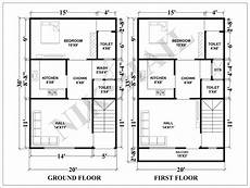 20x30 house plans 20x30 house plan with 3d elevation by nikshail house