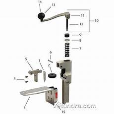 Can Opener Diagram by Edlund No 2 Can Opener Parts Etundra