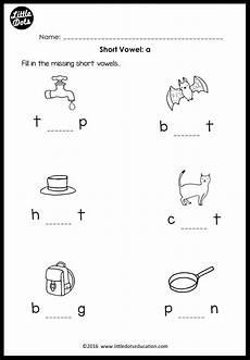 single teaching vowels vowel worksheets short a worksheets