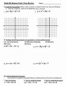 algebra 1 honors worksheets 8436 algebra 1b unit 9 solving quadratic equations by graphing worksheet answers tessshebaylo