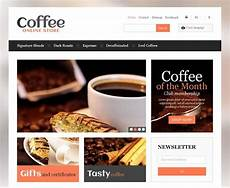 online coffeeshop morning coffee website designs that will pick you up