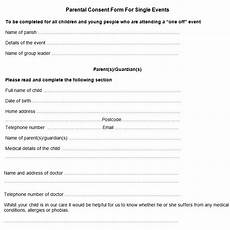 sle parental consent form free premium templates