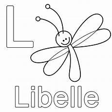 Schule Und Familie Malvorlagen Xing Kostenlose Malvorlage Buchstaben Lernen L Wie Libelle Zum