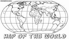 world map coloring pages coloring pages to and