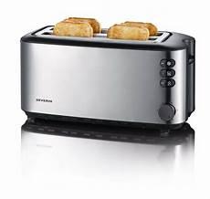 tostapane cuisinart severin automatic slot toaster 4 slice 1400w brushed
