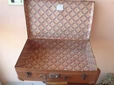 ladario vintage anni 50 vintage vecchia valigia da viaggio cartone pressato anni