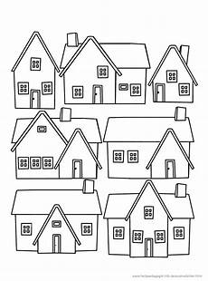 gratis malvorlagen haus coloring and malvorlagan