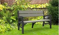 panchina da giardino legno panchina da giardino in resina keter montero finitura