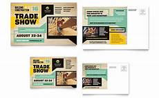 business card size advertisement template builder s trade show postcard template design