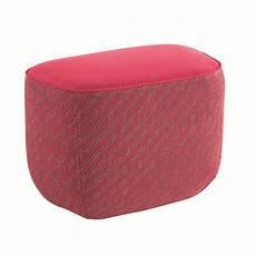 trilogie pouf en tissu by roche bobois design sacha lakic