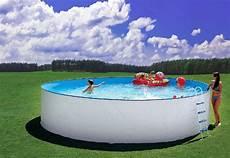 pool 5m durchmesser pool set stahlwand schwimmbecken 5 50 x 1 20m schwimmbad