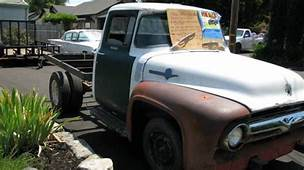 1956 Ford F250/F350 Factory Dually Flatbed Truck For Sale