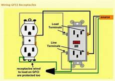 how to wire to gfci s with one line electrical diy chatroom home improvement