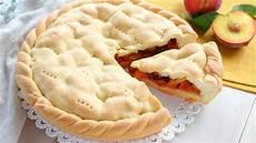 crostata con crema pasticcera fatto in casa da crostata di pesche ricetta facile fatto in casa da benedetta videoricette