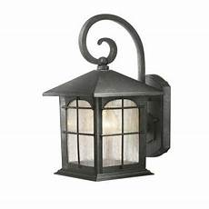 to replace the garage and front porch lights 39 97 at home depot the scroll quot hanger quot matches
