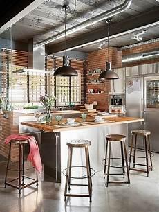 cuisine loft industriel le lustre industriel une inspiration d 233 pareill 233 e