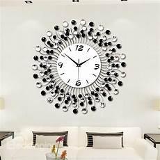 modern classic living room diamond decorative wall clock