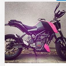ktm duke 125 in pink wo kaufen motorrad 125er rosa